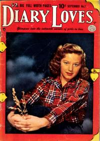 Cover Thumbnail for Diary Loves (Quality Comics, 1949 series) #7