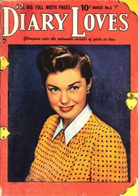 Cover Thumbnail for Diary Loves (Quality Comics, 1949 series) #8