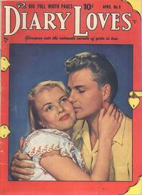 Cover Thumbnail for Diary Loves (Quality Comics, 1949 series) #9