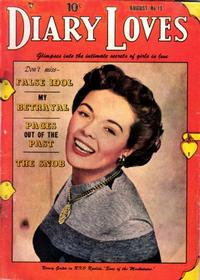 Cover Thumbnail for Diary Loves (Quality Comics, 1949 series) #13