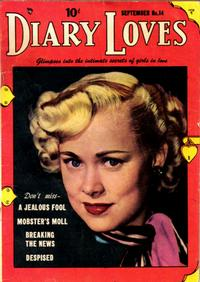 Cover Thumbnail for Diary Loves (Quality Comics, 1949 series) #14