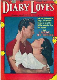 Cover Thumbnail for Diary Loves (Quality Comics, 1949 series) #15