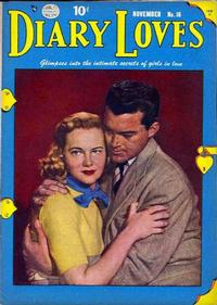 Cover Thumbnail for Diary Loves (Quality Comics, 1949 series) #16