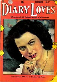 Cover Thumbnail for Diary Loves (Quality Comics, 1949 series) #17