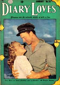 Cover Thumbnail for Diary Loves (Quality Comics, 1949 series) #18