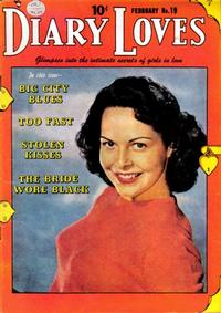 Cover Thumbnail for Diary Loves (Quality Comics, 1949 series) #19