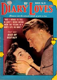 Cover Thumbnail for Diary Loves (Quality Comics, 1949 series) #20