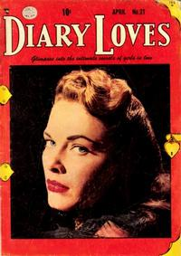 Cover Thumbnail for Diary Loves (Quality Comics, 1949 series) #21