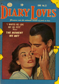 Cover Thumbnail for Diary Loves (Quality Comics, 1949 series) #22
