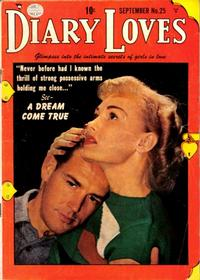 Cover Thumbnail for Diary Loves (Quality Comics, 1949 series) #25