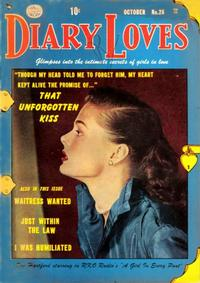 Cover Thumbnail for Diary Loves (Quality Comics, 1949 series) #26