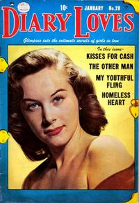 Cover Thumbnail for Diary Loves (Quality Comics, 1949 series) #28