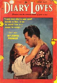 Cover Thumbnail for Diary Loves (Quality Comics, 1949 series) #29