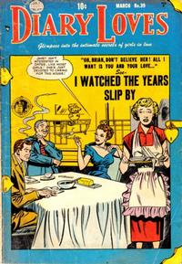 Cover for Diary Loves (Quality Comics, 1949 series) #30