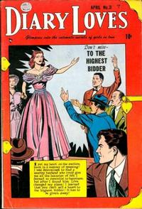Cover Thumbnail for Diary Loves (Quality Comics, 1949 series) #31