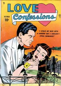 Cover Thumbnail for Love Confessions (Quality Comics, 1949 series) #1