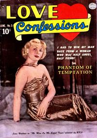 Cover Thumbnail for Love Confessions (Quality Comics, 1949 series) #5