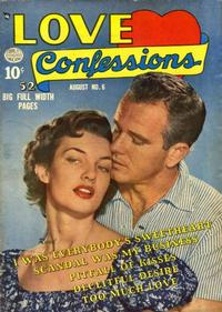 Cover Thumbnail for Love Confessions (Quality Comics, 1949 series) #6