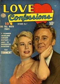 Cover Thumbnail for Love Confessions (Quality Comics, 1949 series) #7