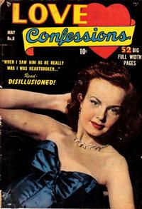 Cover Thumbnail for Love Confessions (Quality Comics, 1949 series) #8