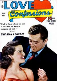 Cover Thumbnail for Love Confessions (Quality Comics, 1949 series) #9
