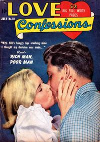 Cover Thumbnail for Love Confessions (Quality Comics, 1949 series) #10