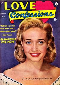 Cover Thumbnail for Love Confessions (Quality Comics, 1949 series) #11
