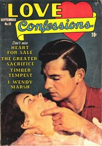 Cover Thumbnail for Love Confessions (Quality Comics, 1949 series) #12