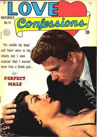 Cover Thumbnail for Love Confessions (Quality Comics, 1949 series) #14