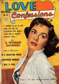 Cover Thumbnail for Love Confessions (Quality Comics, 1949 series) #15