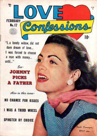 Cover Thumbnail for Love Confessions (Quality Comics, 1949 series) #17