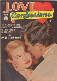 Cover Thumbnail for Love Confessions (Quality Comics, 1949 series) #18