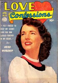Cover Thumbnail for Love Confessions (Quality Comics, 1949 series) #19