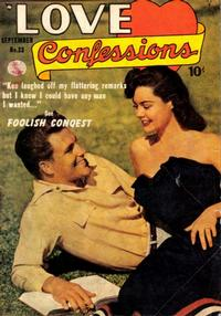 Cover Thumbnail for Love Confessions (Quality Comics, 1949 series) #23