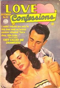 Cover Thumbnail for Love Confessions (Quality Comics, 1949 series) #25