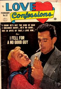 Cover Thumbnail for Love Confessions (Quality Comics, 1949 series) #27