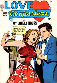 Cover Thumbnail for Love Confessions (Quality Comics, 1949 series) #30