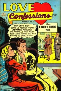 Cover Thumbnail for Love Confessions (Quality Comics, 1949 series) #32