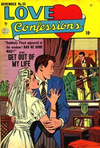 Cover Thumbnail for Love Confessions (Quality Comics, 1949 series) #33