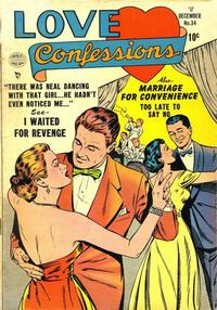 Cover Thumbnail for Love Confessions (Quality Comics, 1949 series) #34
