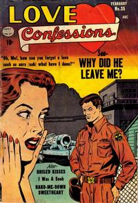 Cover Thumbnail for Love Confessions (Quality Comics, 1949 series) #35