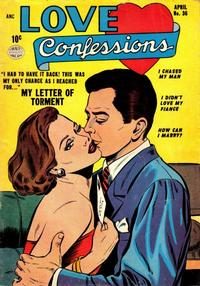Cover Thumbnail for Love Confessions (Quality Comics, 1949 series) #36
