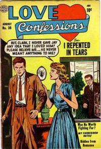 Cover Thumbnail for Love Confessions (Quality Comics, 1949 series) #38