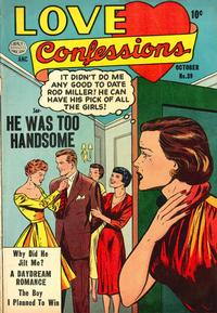 Cover Thumbnail for Love Confessions (Quality Comics, 1949 series) #39