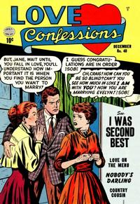 Cover Thumbnail for Love Confessions (Quality Comics, 1949 series) #40