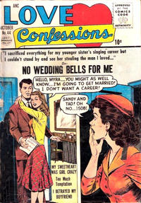 Cover Thumbnail for Love Confessions (Quality Comics, 1949 series) #44