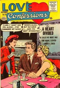 Cover Thumbnail for Love Confessions (Quality Comics, 1949 series) #45