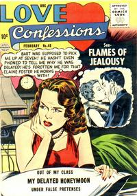 Cover Thumbnail for Love Confessions (Quality Comics, 1949 series) #48