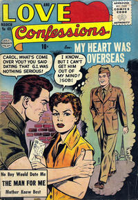 Cover Thumbnail for Love Confessions (Quality Comics, 1949 series) #49