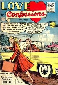 Cover Thumbnail for Love Confessions (Quality Comics, 1949 series) #50